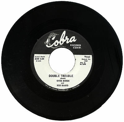 """OTIS RUSH and HIS BAND  """"DOUBLE TROUBLE""""    BLUES    LISTEN!"""