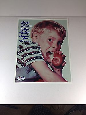 "Jay North, ""Dennis The Menace""  Autographed, Inscribed Photo 8 X 10 PSA/DNA"
