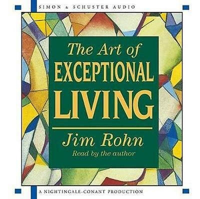 NEW The Art of Exceptional Living By Jim Rohn Audio CD Free Shipping