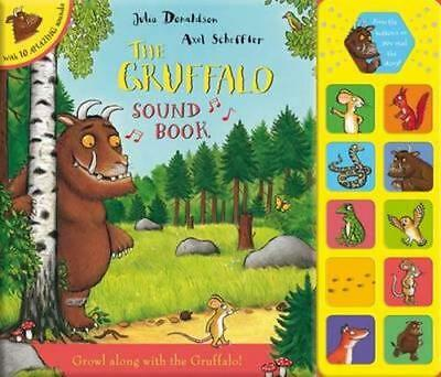 NEW The Gruffalo Sound Book By Julia Donaldson Hardcover Free Shipping