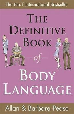 NEW The Definitive Book of Body Language By Allan Pease Paperback Free Shipping