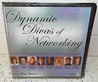 Sealed Dynamic Divas of Networking Todd Falcone 8 CDs
