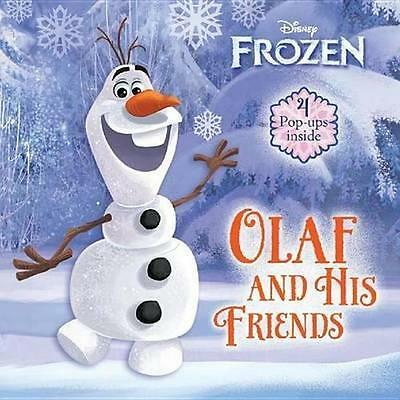 NEW Olaf and His Friends  By AZ Books Board Book Free Shipping