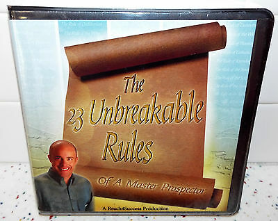 Sealed The 23 Unbreakable Rules Todd Falcone CDs