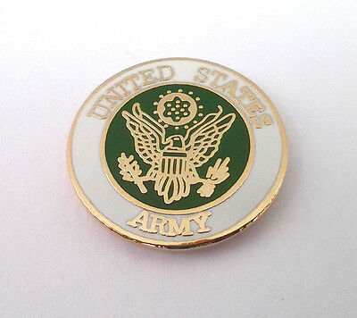 UNITED STATES ARMY Military Veteran US Army Hat Pin 14767 HO  SMALL