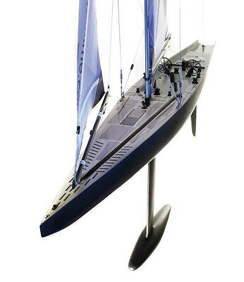 STOCKMARITIME America´s Cup Modell Yacht » ACC 110 «  Carbon * 1070 mm LOA