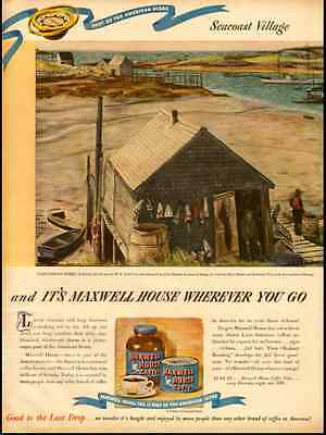 1940s vintage ad for Maxwell House Coffee -459