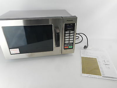 Panasonic NE-1054F - Stainless 1000W 0.8 Cu. Ft. Commercial Microwave Oven