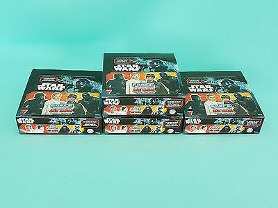 Topps Star Wars Force Attax Universe 4 x Display / 96 Booster Neu & OVP 2017