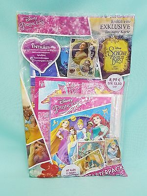 Topps Disney Princess Trading Cards 2017 Starterpack inkl. Limitierte Auflage
