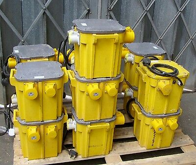 5 KVA Site Transformer 2 X 16 A & 1 X 32 Amp 110V Heavy Duty VAT INCLUDED