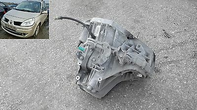 gearbox 6 speed manual tl4a015 renault renault scenic 1.6 06-09 sd07ugt sheffiel