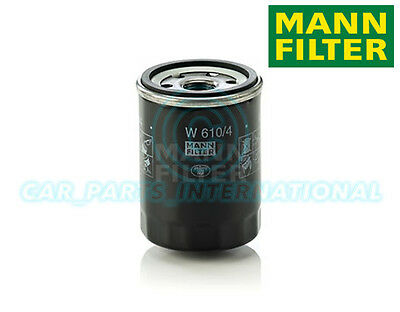 Mann Hummel OE Quality Replacement Engine Oil Filter W 610/4