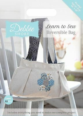 Debbie Shore Craft Pattern Learn to Sew Craft Box Set Project - Reversible Bag