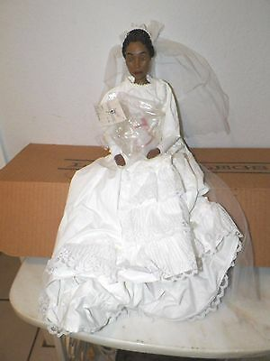 "Vintage Daddys Long Leg 20"" Doll Victoria Ltd Ed Bride Box & Coa"