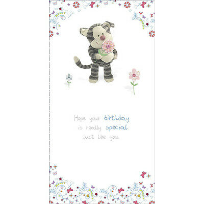 Boofle Puddy Cat Happy Birthday Greeting Card Cute Range Greetings Cards