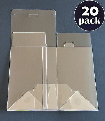 "20 Count - Funko POP! 4"" Inch Vinyl Box Protectors - Acid-Free & Crystal Clear"