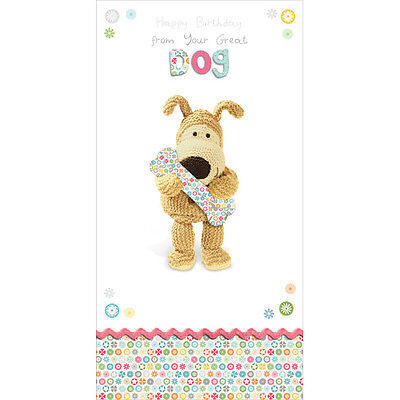 Boofle Happy Birthday From The Dog Greeting Card Cute Range Greetings Cards