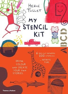 My Stencil Kit: Draw, colour and create your own stories (Paperba...