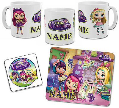 Personalised Little Charmers Mug with Coaster & Placemat Options