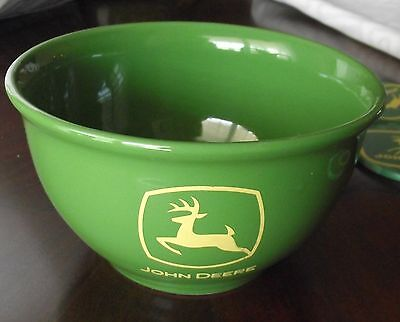 Rare John Deere Green 1 Quart Serving Mixing Bowl