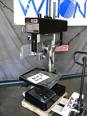 "JET 20"" Variable Speed Drill Press ~ Model: J-2223VS ~ 2 HP, 3 Ph, 230/460V"