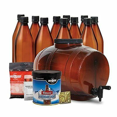 Premium Edition Beer Kit - Will Brew And Bottle 2 Gallons of All Malt Beer
