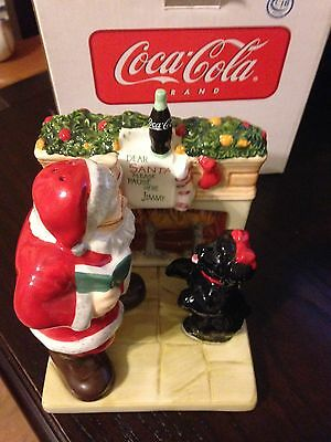 New Coca Cola Holiday Portraits Salt And Pepper Shakers With Free Shipping