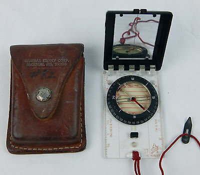 Silva Ranger 15T Ranger Hiking Camping Compass w/ Leather Case