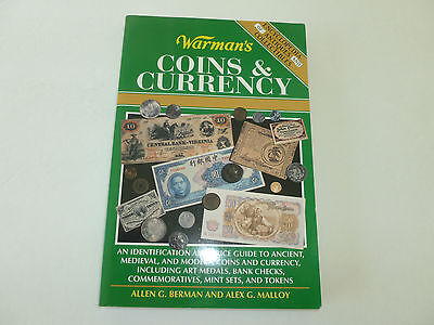 Warman's Coins & Currency Reference Book & Price Guide (358 Pages-Soft Cover)