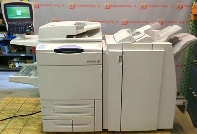 Xerox WorkCentre 7775 Printer Copier Color Fax Scan Free Shipping 200k Count