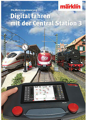 "Märklin 03082 Advice Manual Book "" Digital Color with the Central Station 3"