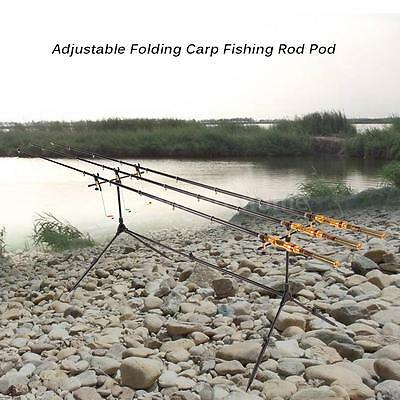 Adjustable Retractable Carp Fishing Rod Pods Stand Holder Cheap Rod Pods I4E7