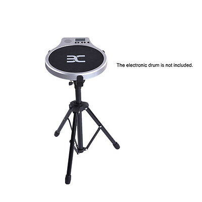 Professional Foldable Black Metal Drum Pad Stand for Practice Digital Drum Pad