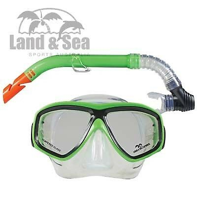 Land And Sea Clearwater Silicone Mask And Snorkel