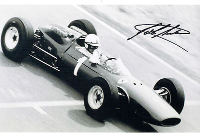John SURTEES SIGNED Genuine RARE FERRARI F1 Photo AFTAL Autograph COA