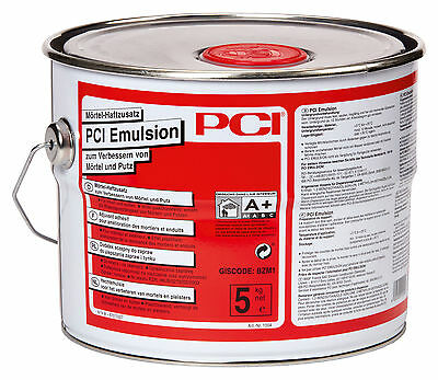 PCI Emulsion 5 kg mortar adhesive additive to Improve by mortar and Cleaning