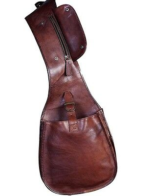 Scully Western Saddle Bag Mens Leather One Size Brown 535006