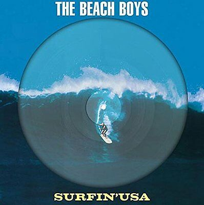 The Beach Boys Surfin USA (Stereo & Mono) VINYL LP PICTURE DISC LIMITED EDITION