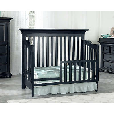 Oxford Baby Harlow Toddler Guard Rail - Midnight Slate