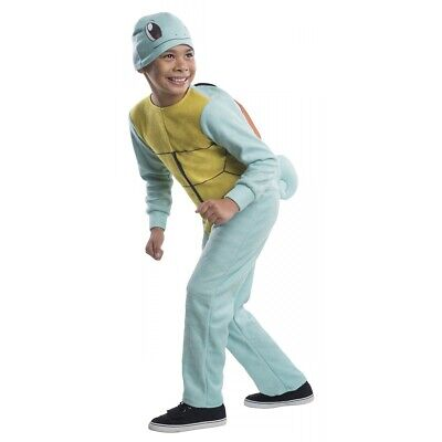 Squirtle Costume Kids Pokemon Halloween Fancy Dress