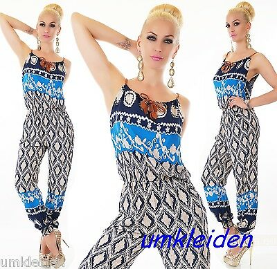 WoW COOLER Retro Overall Jumpsuit Neu