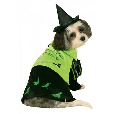 Dog Witch Costume Pet Halloween Wicked Witch of The West Fancy Dress