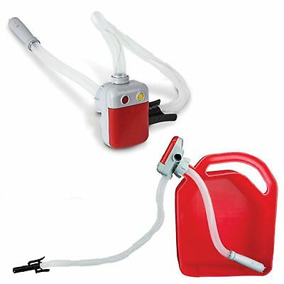 Fuel Transfer Pump Battery Operated  18 Feet of intake hose 2.5 GPM