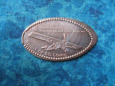 SPIRIT OF ST LOUIS SMITHSONIAN Elongated Penny Pressed Smashed 24