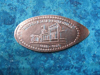 EASTERN STATE PENITENTIARY PHILADELPHIA PA Elongated Penny Pressed Smashed 24