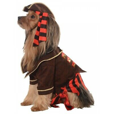 Pirate Boy Costume Pet Halloween Fancy Dress