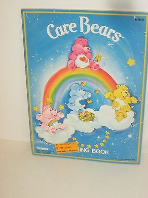 Vintage Kenner Care Bears Coloring Book American Greetings 1982 Unused