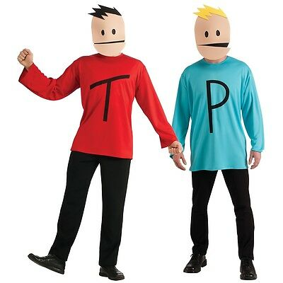 Terrance and Phillip Costume Adult South Park Halloween Fancy Dress