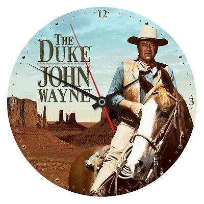 John Wayne Duke Wall Clock